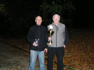 Tour-Masters-Sieger Hagü (re.) und Dritter Peter