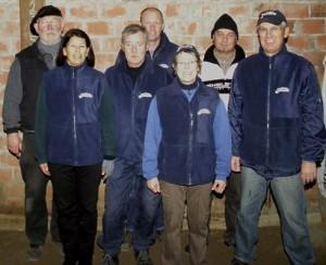 Theo, Barbara, Bernd, Andreas, Gabi, Jogy, Peter