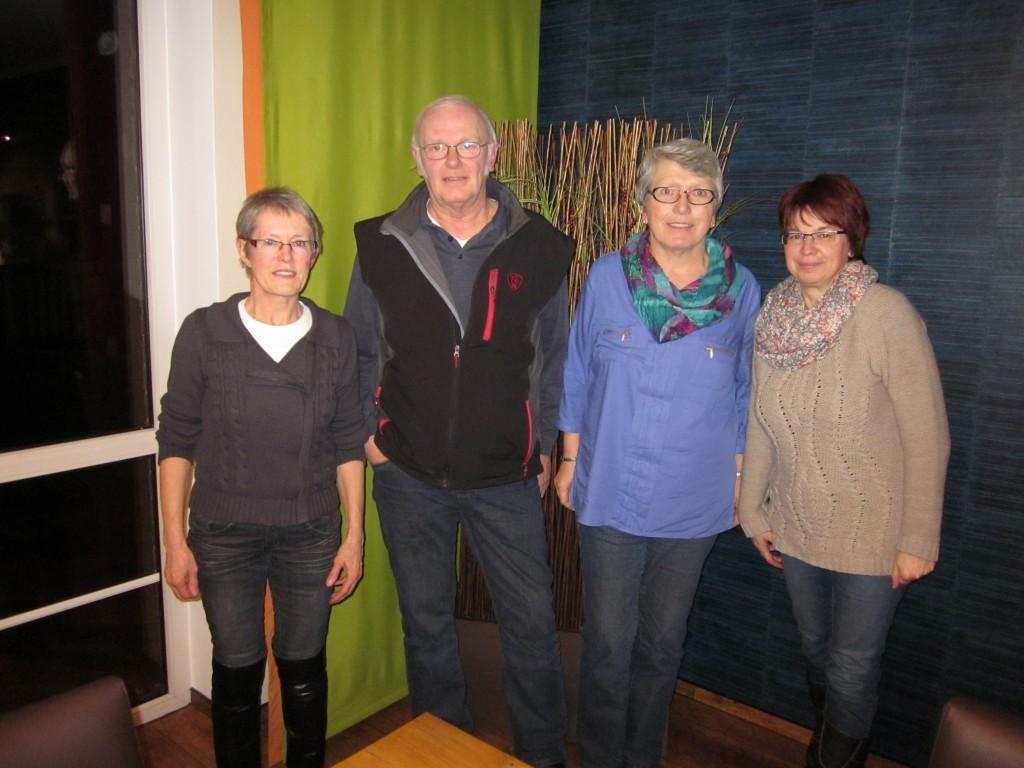 Neu im Vorstand: Schriftführerin Inge Hanau und Kassenwartin Christine Winzinger