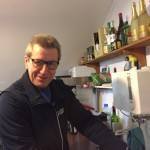 Aco in Aktion beim Catering